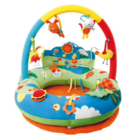 Inflatable Playnest and Gym